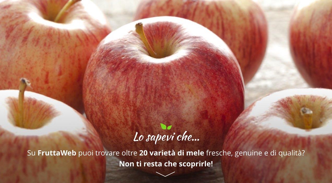 acquista online mele italiane su Fruttaweb.com