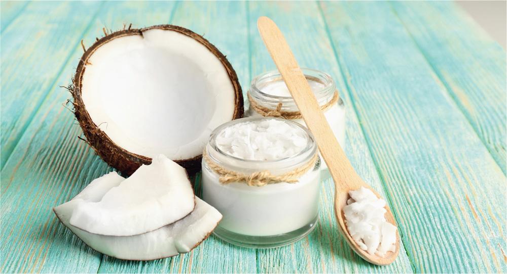 olio di cocco biologico non sottoposto a trattamenti di raffinazione