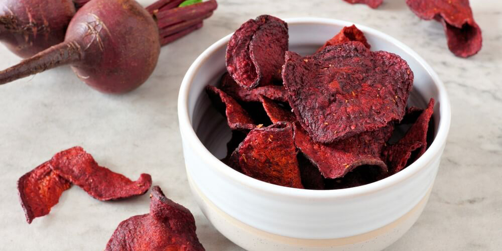 Barbabietola Veg&Crock chips