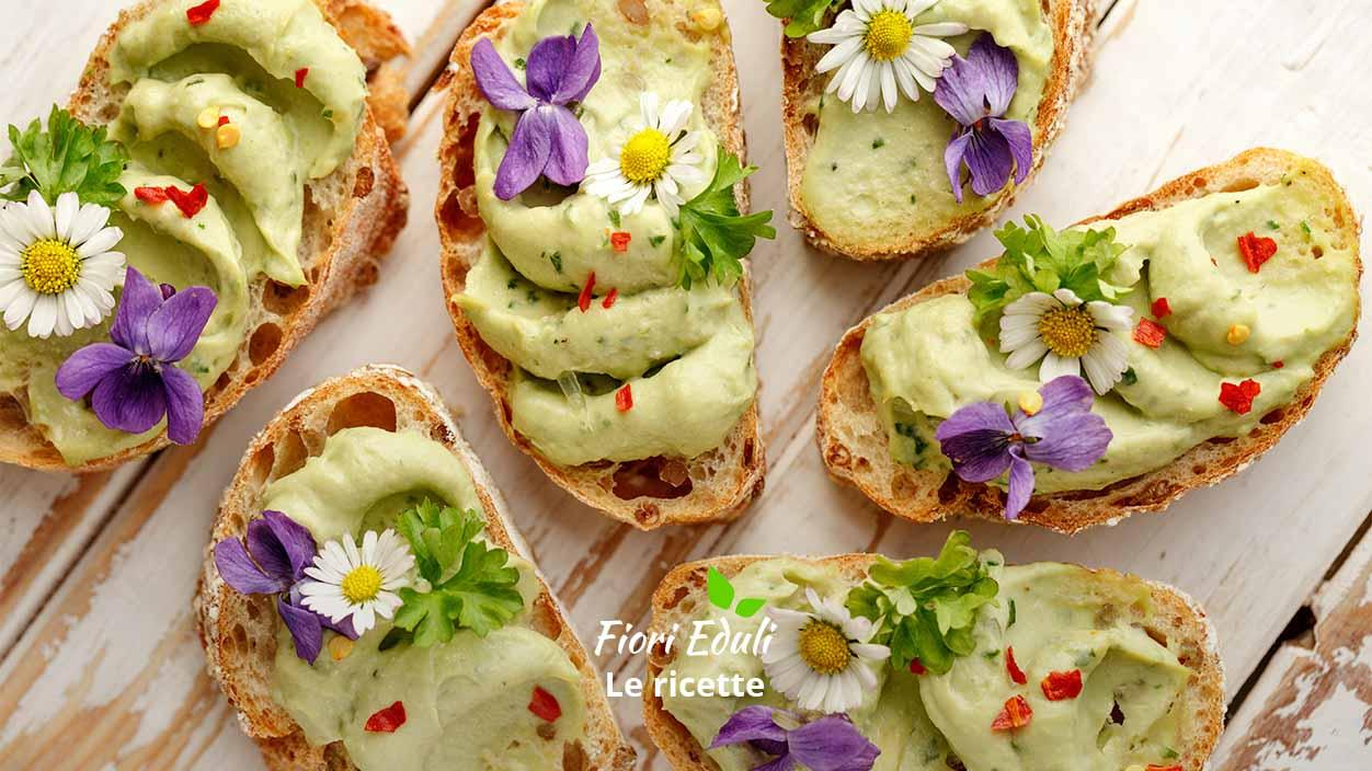 Fiori Eduli ricette su FruttaWeb
