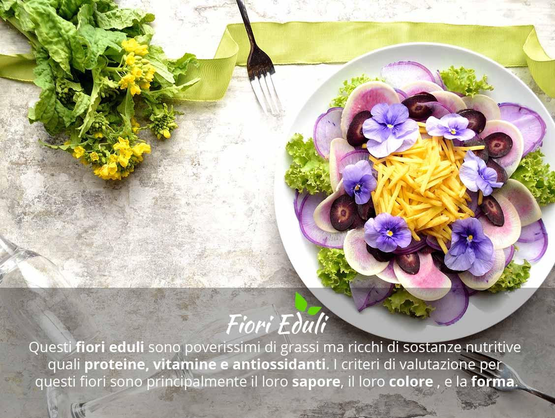 Fiori eduli che sapore hanno su FruttaWeb