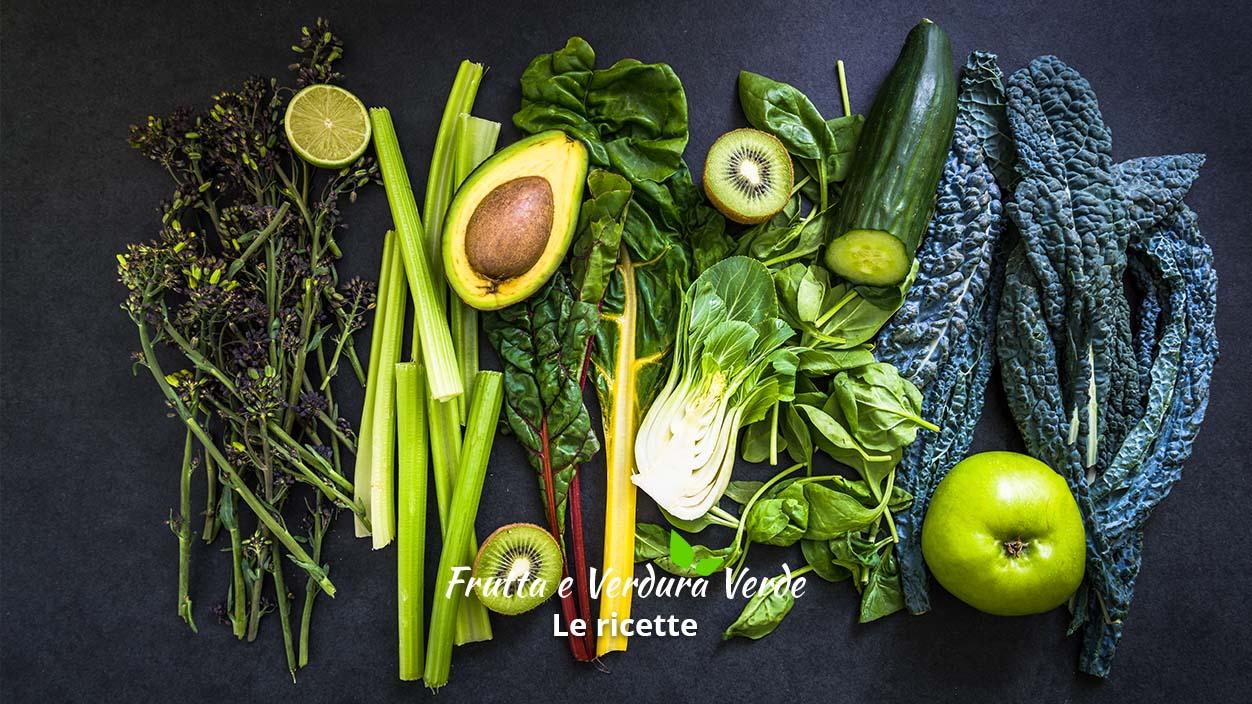Frutta e verdura verde ricette