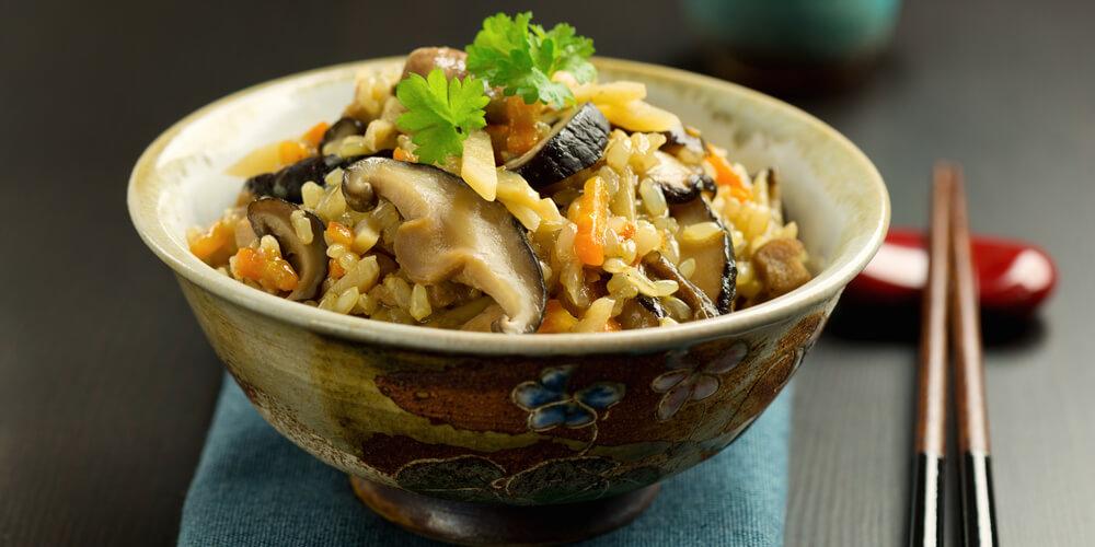 Funghi Shii-take risotto