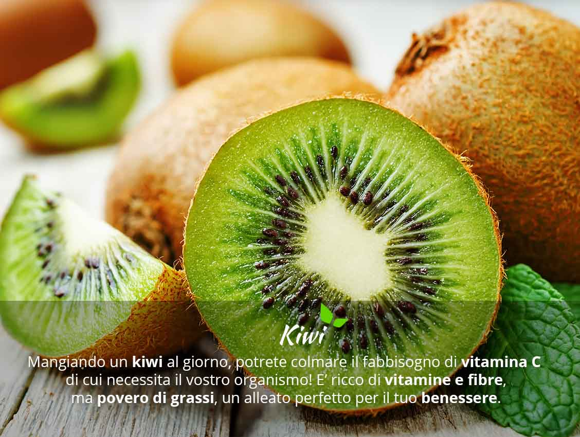 Kiwi valori e proprietà