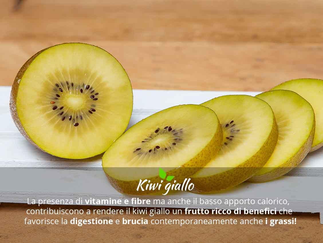Kiwi giallo benefici e valori nutrizionali