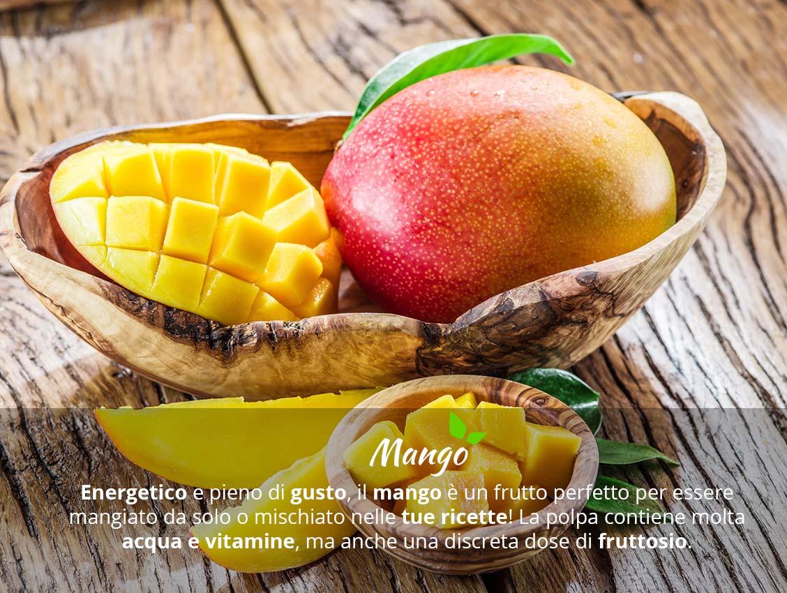 Mango biologico valori nutrizionali e calorie