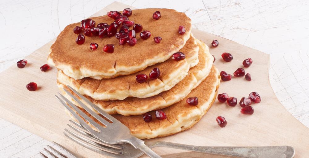 Pancake al melograno ricetta