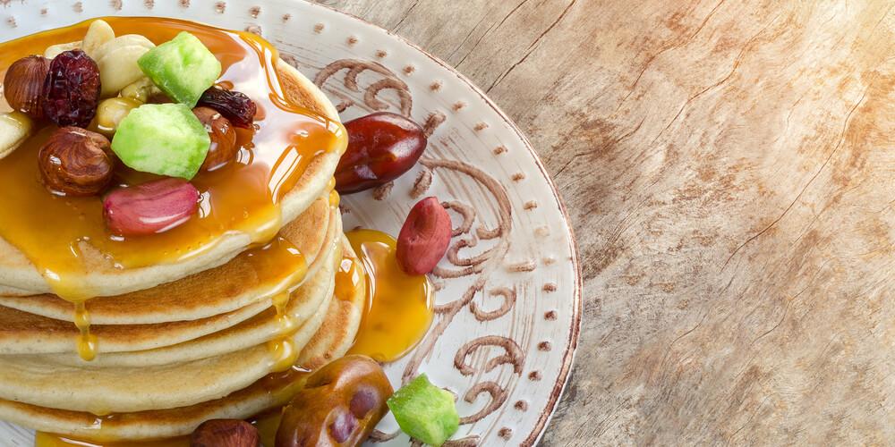 Pomelo disidratato pancake