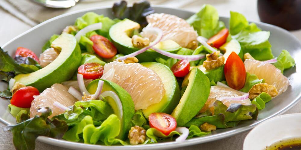 Pompelmo bianco insalata