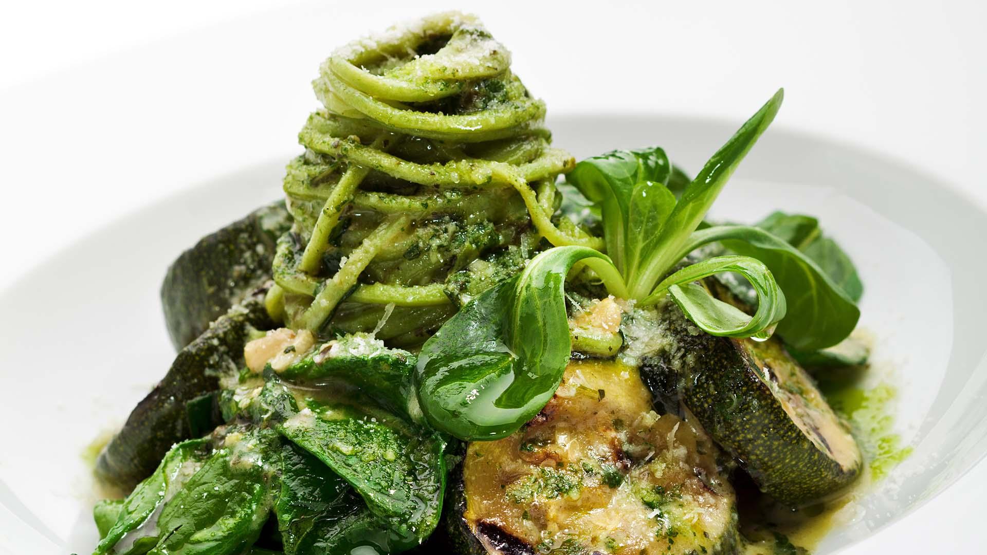 Spaghetti verdi su Fruttaweb.com