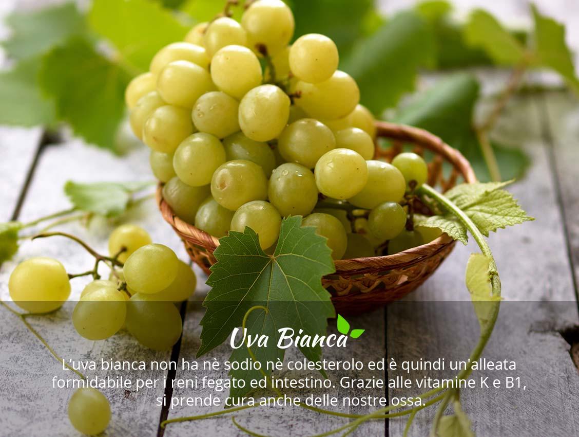 Uva Bianca proprietà e benefici