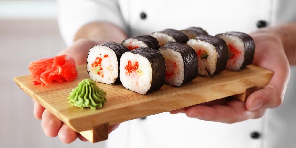 Wasabi sushi ricetta