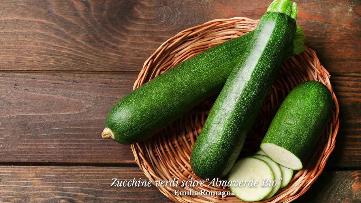 Ordina ra online le zucchine verdi scure almaverbio su fruttaweb!