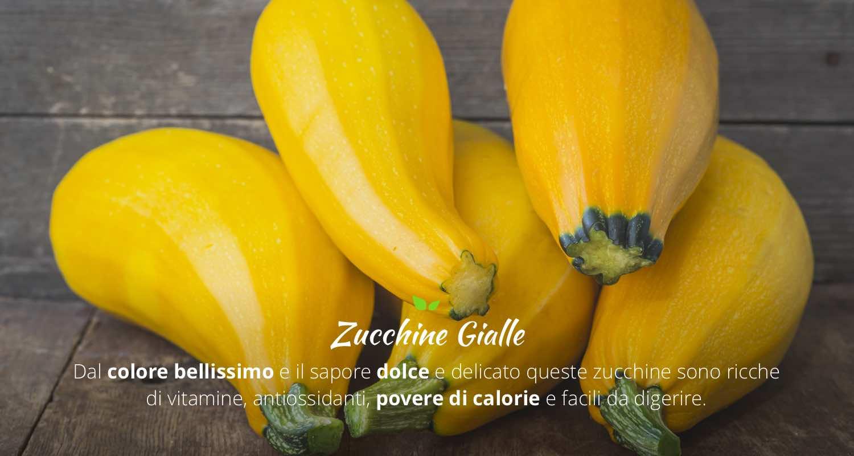 Proprietà e Benefici delle Zucchine Gialle