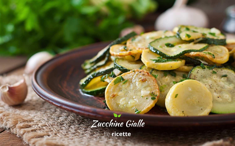 Ricette con zucchine gialle. Cosa preparare con le zucchine gialle