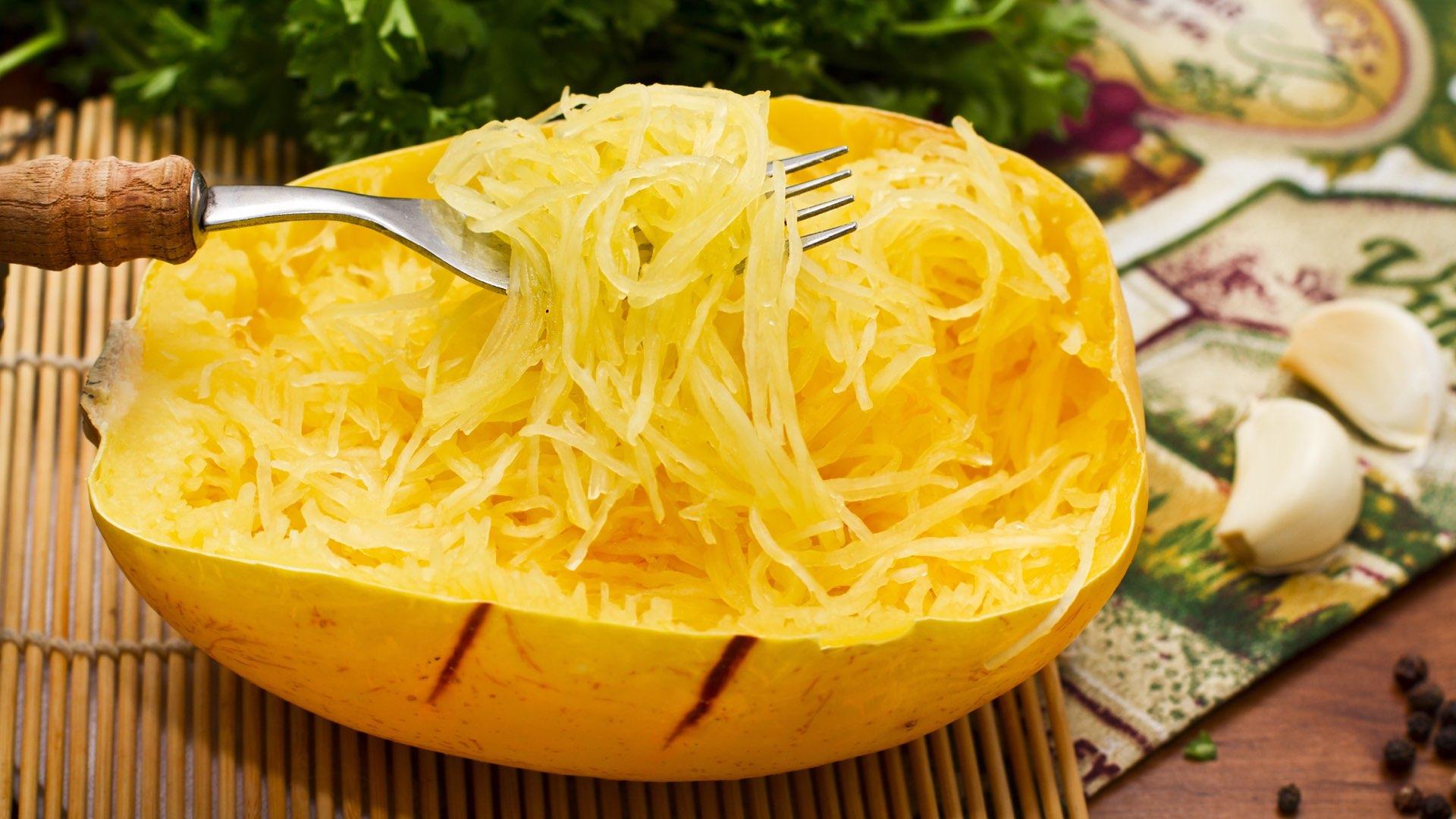 Zucca Spaghetti al Forno