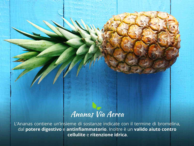 ananas via aerea caratteristica