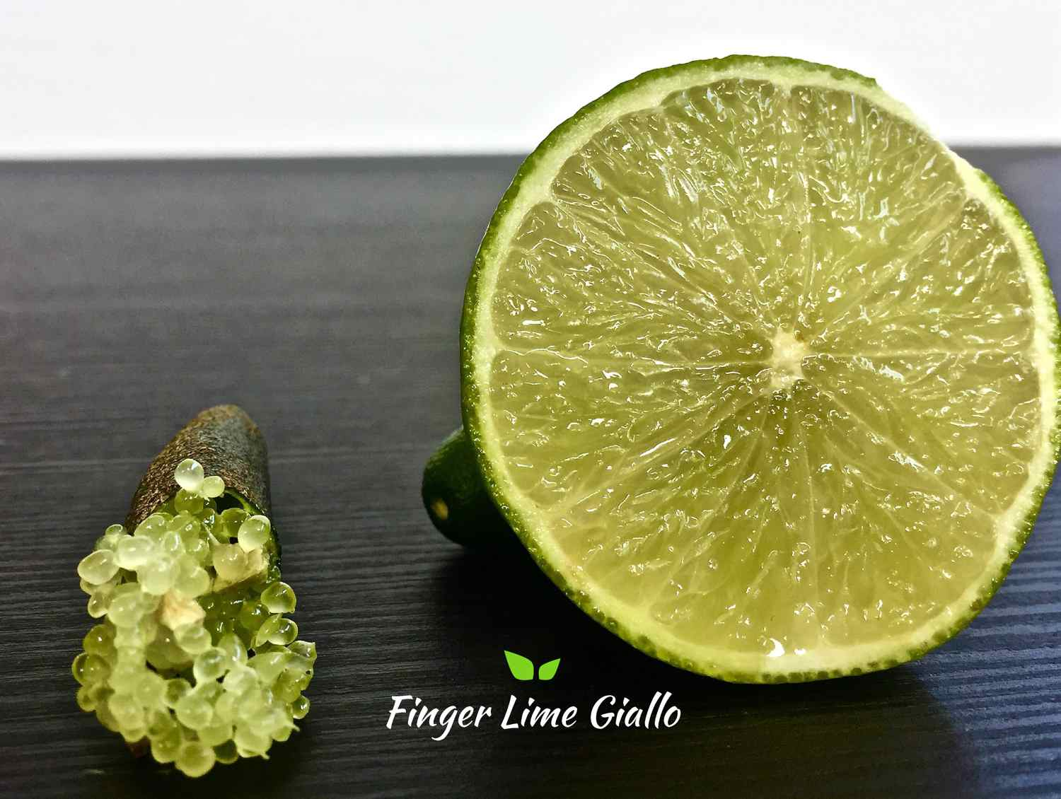 differenze tra finger lime giallo e lime